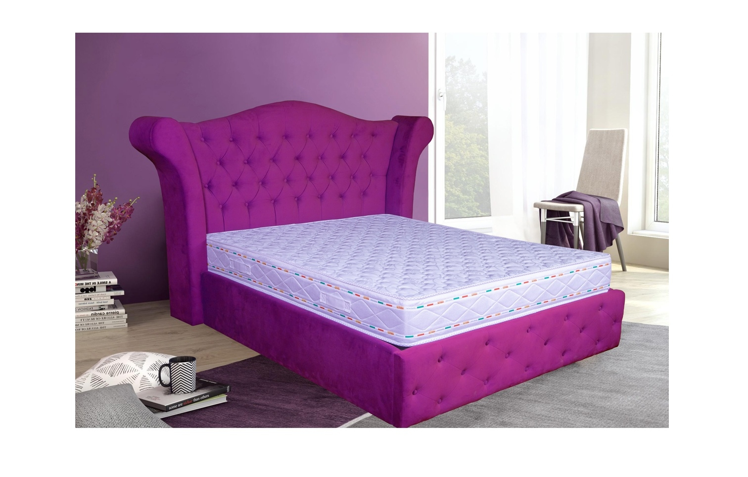 Saltea Ortopedica Pocket Memory Aquagel 7 Zone Confort